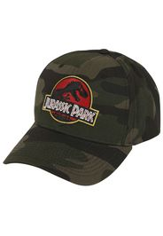 Jurassic Park - Camo Logo - Cappello - Uomo - multicolore