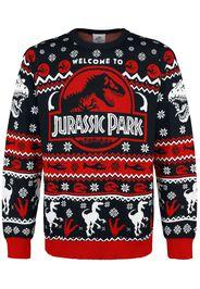 Jurassic Park - Logo - Christmas jumper - Uomo - multicolore