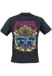 Killswitch Engage - Brain Bomb - T-Shirt - Uomo - nero
