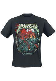 Killswitch Engage - Atonement Cover - T-Shirt - Uomo - nero