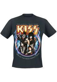 Kiss - End Of The Road World Tour - T-Shirt - Uomo - nero