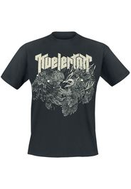 Kvelertak - Owl Fight - T-Shirt - Uomo - nero
