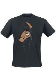 Le follie dell'imperatore - Kuzco Face - T-Shirt - Uomo - nero