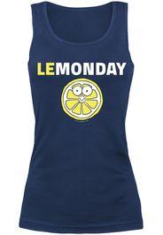 Lemonday -  - Top - Donna - blu navy