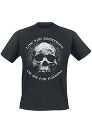 Live for Something -  - T-Shirt - Uomo - nero