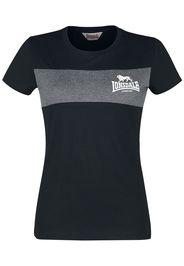 Lonsdale London - Dawsmere - T-Shirt - Donna - nero
