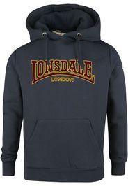 Lonsdale London - LL002 Hooded Classic - Felpa con cappuccio - Uomo - blu