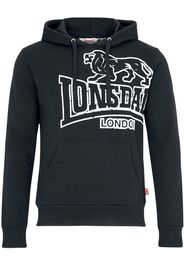 Lonsdale London - Tadley - Felpa con cappuccio - Uomo - nero
