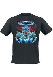 Mastodon - Sasquatch & Aliens Blood - T-Shirt - Uomo - nero