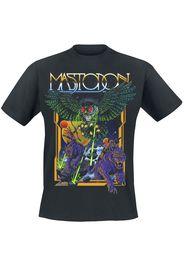 Mastodon - Space Owl - T-Shirt - Uomo - nero