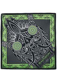 Mastodon - Creature headline art - Bandana - Bandana - Unisex - nero verde