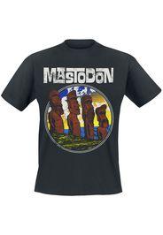 Mastodon - Easter Statues - T-Shirt - Uomo - nero