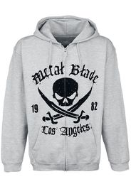Metal Blade - Pirate Logo - Felpa jogging - Uomo - grigio