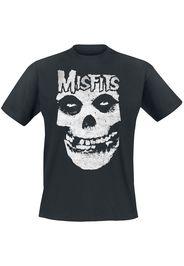 Misfits - Skull - T-Shirt - Uomo - nero