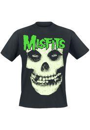 Misfits - Jarek Skull - T-Shirt - Uomo - nero