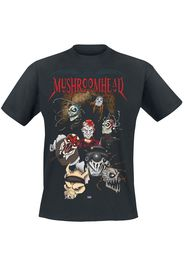 Mushroomhead - Anime Tour - T-Shirt - Uomo - nero