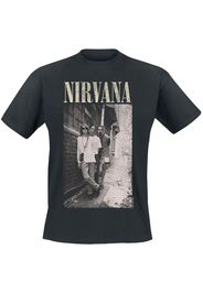 Nirvana - Alleyway - T-Shirt - Uomo - nero