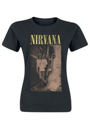 Nirvana - Alleyway - T-Shirt - Donna - nero