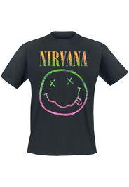 Nirvana - Sorbet Ray - T-Shirt - Uomo - nero