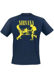 Nirvana - Stage - T-Shirt - Uomo - blu scuro