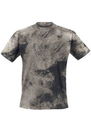 Outer Vision - Nogal - T-Shirt - Uomo - nero marrone