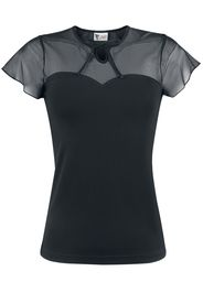 Pussy Deluxe - Lovely Chic Shirt - T-Shirt - Donna - nero