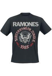 Ramones - Subterranean Jungle - T-Shirt - Uomo - nero
