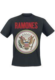 Ramones - Seal Red - T-Shirt - Uomo - nero
