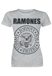 Ramones - Seal - T-Shirt - Donna - grigio sport