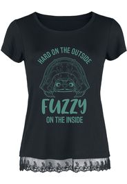 Raya and the Last Dragon - Hard On The Outside - Fuzzy On The Inside - T-Shirt - Donna - nero