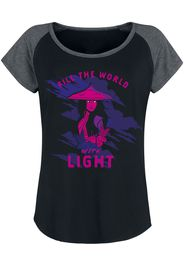 Raya and the Last Dragon - Fill The World With Light - T-Shirt - Donna - nero
