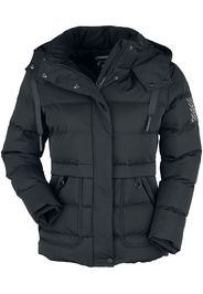 RED by EMP - Black Winter Jacket with Quilting - Giacca invernale - Donna - nero