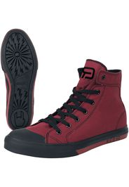 RED by EMP - Walk The Line - Sneakers alte - Unisex - rosso
