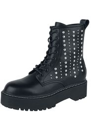 Replay Footwear - Doc Woodcreek - Stivali - Donna - nero