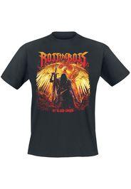 Ross The Boss - By Blood Sworn - T-Shirt - Uomo - nero