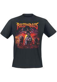 Ross The Boss - Wolves - T-Shirt - Uomo - nero