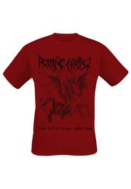 Rotting Christ - Mystical Meeting - T-Shirt - Uomo - rosso scuro