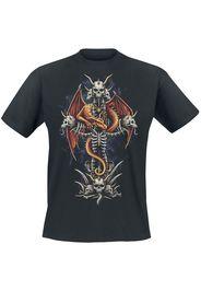 Sarah Richter - Dragon's Cross - T-Shirt - Uomo - nero