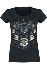 Sarah Richter - Sinister Wings - T-Shirt - Donna - nero