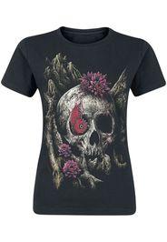 Sarah Richter - A Glance Of Evanescene - T-Shirt - Donna - nero