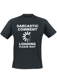 Sarcastic Comment -  - T-Shirt - Uomo - nero