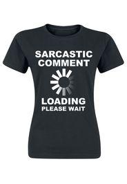 Sarcastic Comment -  - T-Shirt - Donna - nero