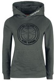 Sea Shepherd X Derbe Hamburg - JF_Zope - Felpa con cappuccio - Donna - nero