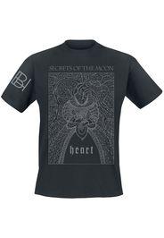 Secrets Of The Moon - Heart - T-Shirt - Uomo - nero