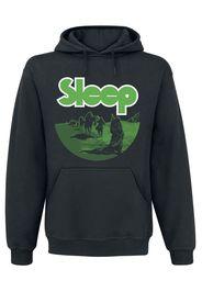 Sleep - Dopesmoker - Felpa con cappuccio - Uomo - nero