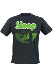 Sleep - Dopesmoker - T-Shirt - Uomo - nero