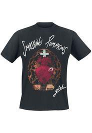 Smashing Pumpkins - Gish Gilded Heart Crest - T-Shirt - Uomo - nero