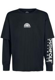 Southpole - Basic Double Sleeve Tee - T-Shirt - Uomo - nero