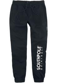 Southpole - Basic Fleece Pants - Pantaloni tuta - Uomo - nero