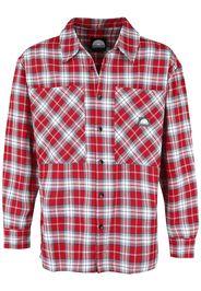 Southpole - Checked Woven Shirt - Maniche lunghe - Uomo - rosso